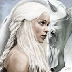 Daenerys by knyttets