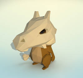Cubone by knyttets