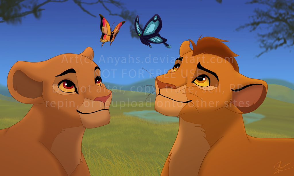 Kiara and kion gallery - Kion le roi lion ...
