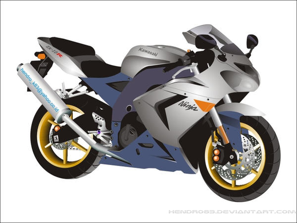 Kawasaki Ninja ZX10R by hendro83