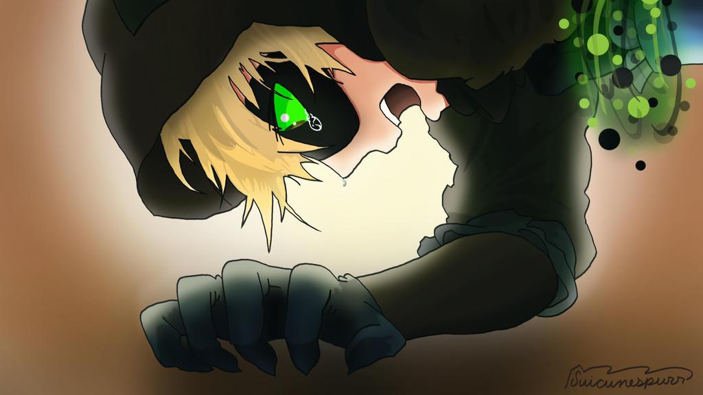 Adrien's grief by suicunespurr