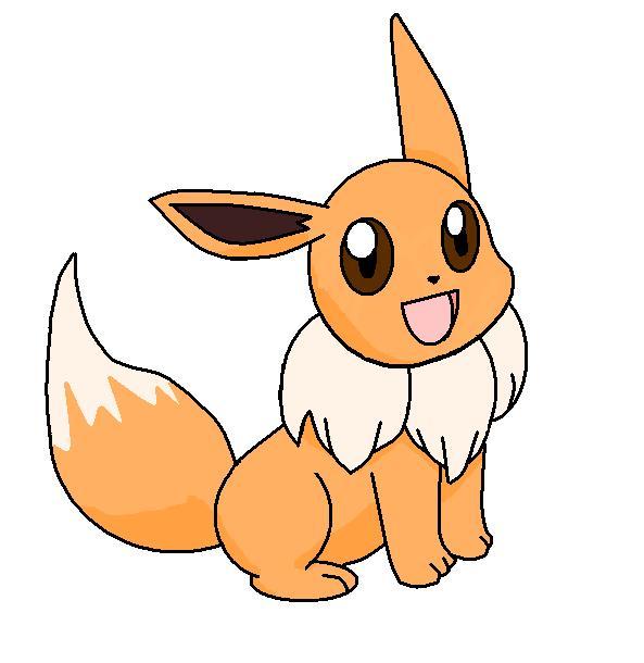 Pokemon Paint Eevee_by_Excel_Kaori