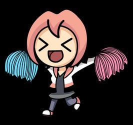 Pippi cheering