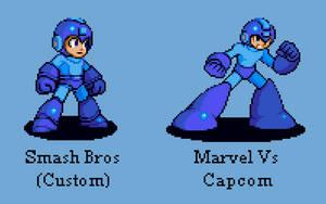 CPS2 Smash Bros Mega Man