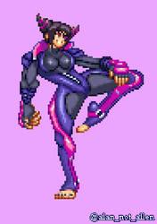 CPS3 Street Fighter V Juri by Kill3rCreeper72