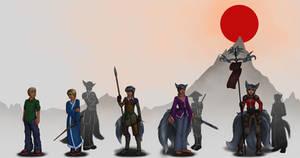 CMSN - TG - Tsukiko, The Kitsune Samurai by TheDangerCat