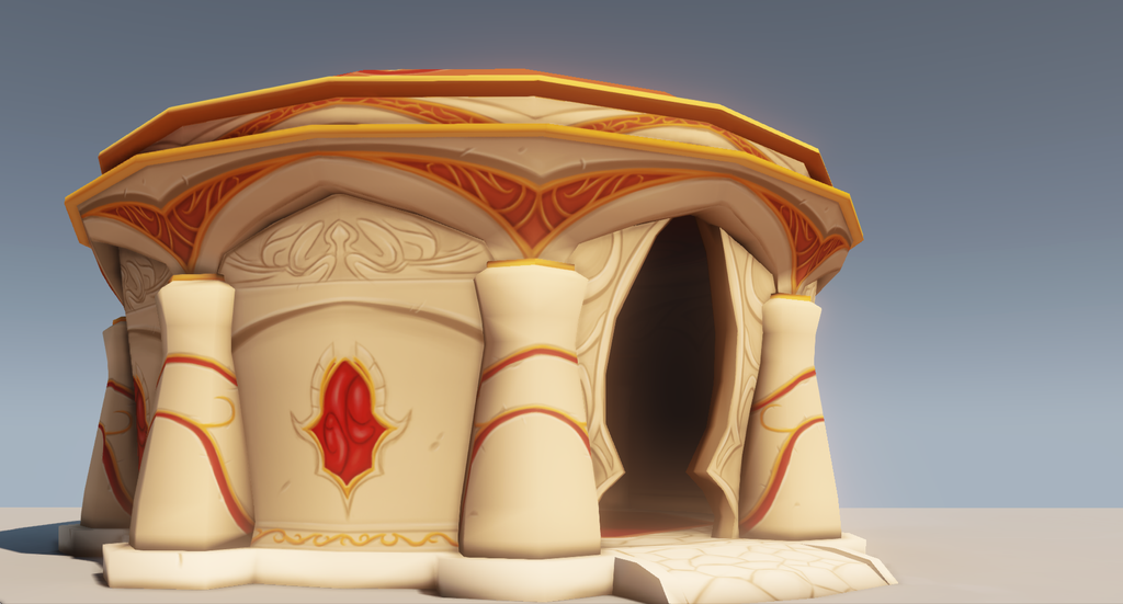 Blood Elf Abode   Re Render By Rinzley-d7s47bt by TheDangerCat