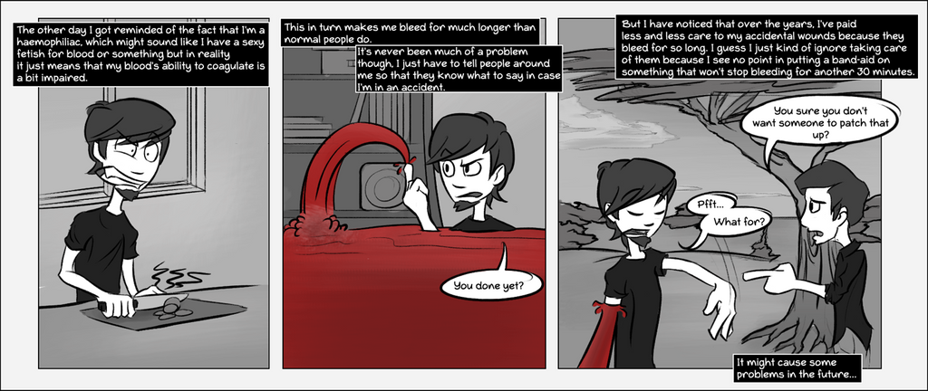 Sketchiecomic 11   May Contain Traces Of Blood By  by TheDangerCat
