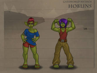 Gateworld Lore - Hoblins by TheDangerCat