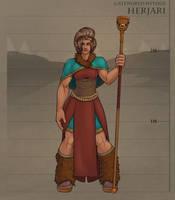 Gateworld Lore - The Herjari by TheDangerCat