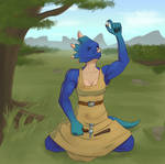 Commission - Zala, Jewelcrafter by TheDangerCat