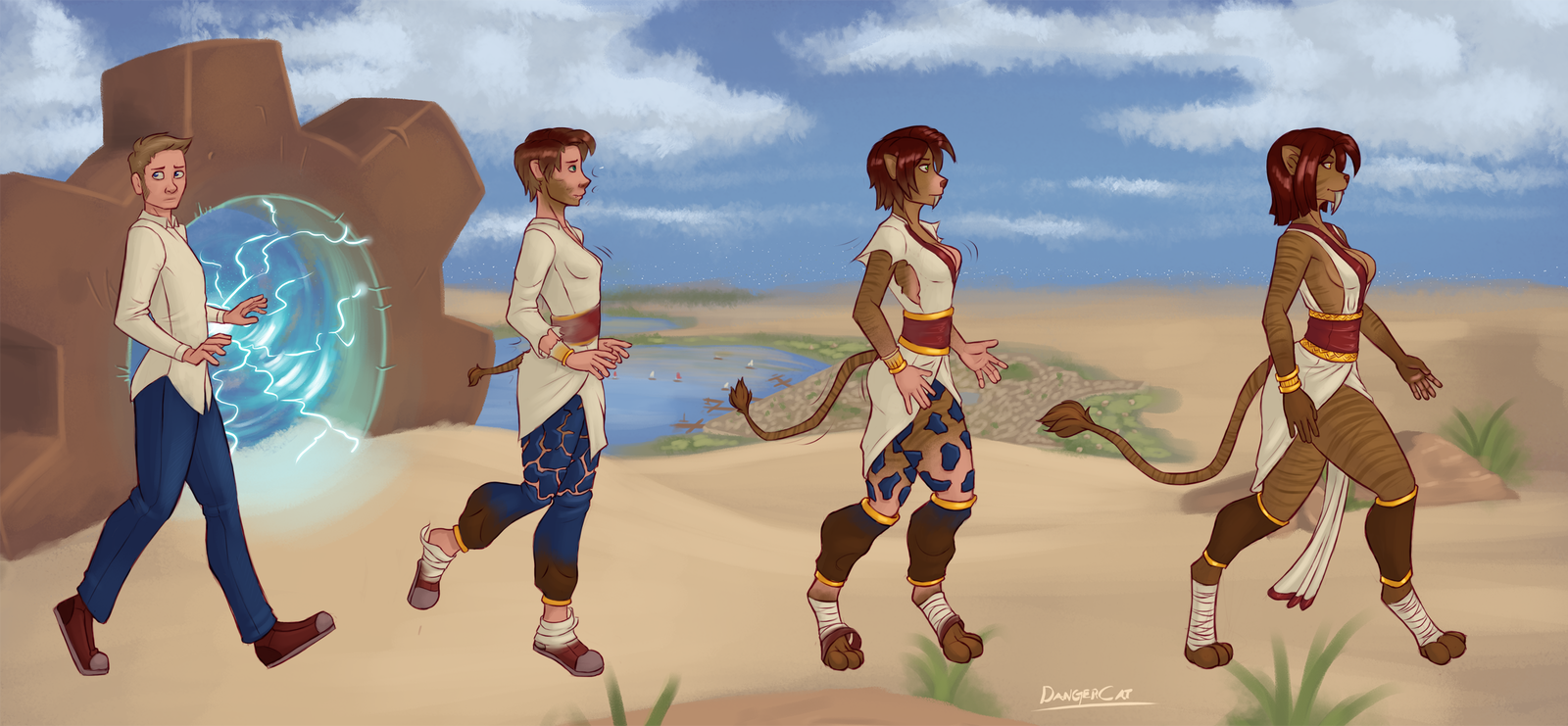 - Walk of the Nimrabouro - by TheDangerCat