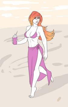 CMSN - Having a Beach-side Drink