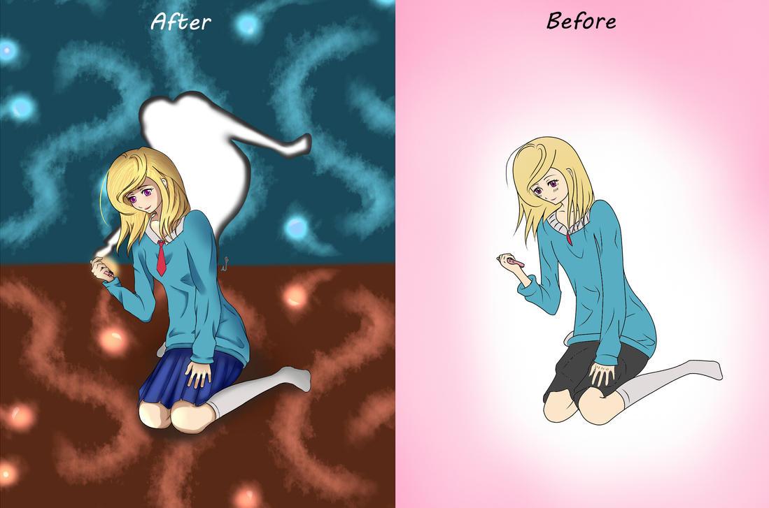 Anime GIrl 13 by WatashiNoHatsukoi