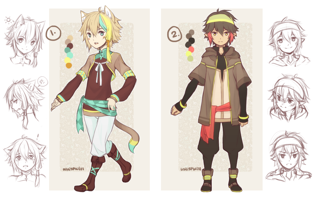 Design Auction Boys (Sold Thanks) by whispwill on DeviantArt