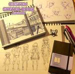 Custom Sketchbook Auction [LAST HOUR!]