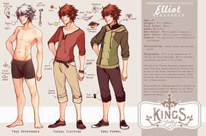 Elliot Alexander by whispwill
