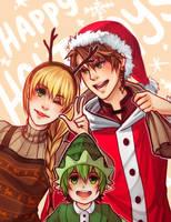Happy Holidays by whispwill