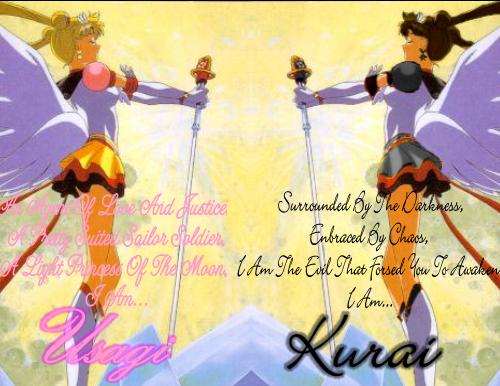 Usagi And Kurai by Mumble9954