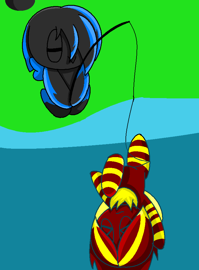 Good fishing day by apricotthevixen on deviantart for Good fishing days