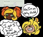 AMA HonDaff Siblings by Apricotthevixen