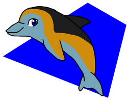 Commission: Dolphin