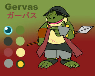 Gervas Reference Sheet by JomoOval