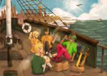 [MCGA Calendar] Lunch on a Ship by blueocean01