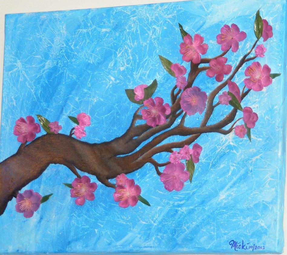 cherry blossom branch by xMickix on deviantART