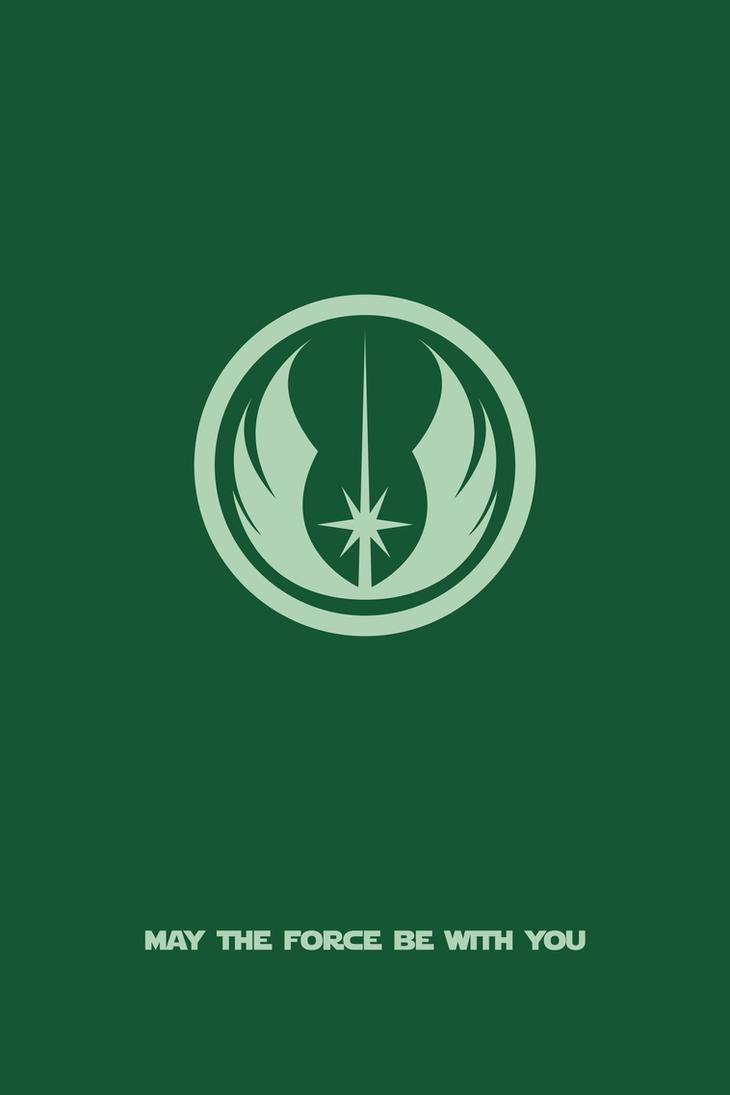 Jedi Order Poster by mehmetaydinozen