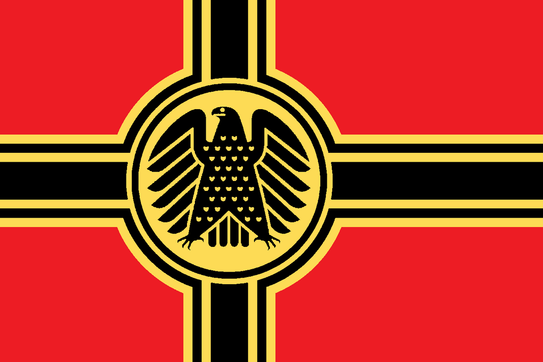The gallery for --> Old German Eagle Flag