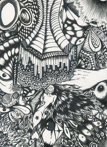 Dibujo cr ticas y opiniones u n l i m i t e d 3djuegos for Imagenes de cuadros abstractos en blanco y negro