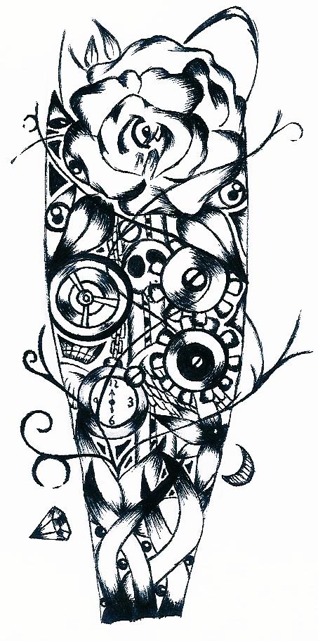 boceto tatuaje by teimporta on DeviantArt