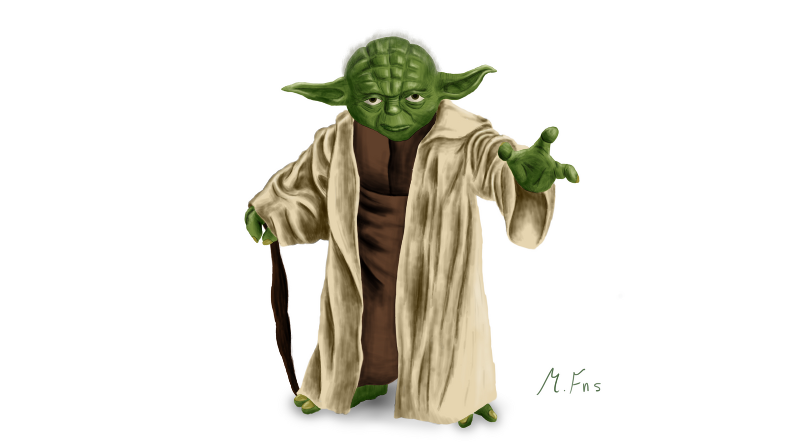 Master Yoda by MarcFenselau on DeviantArt - photo#17