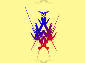 Alan walker logo v1 by mao-l