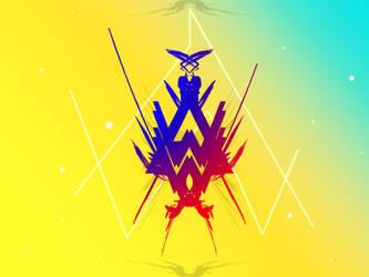 Alan walker logo v2 by mao-l