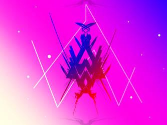 Alan walker logo v3 by mao-l