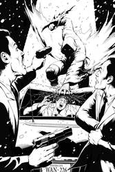 Winter City #5 Pin up - Wayne Nichols by Winter-City-Comics