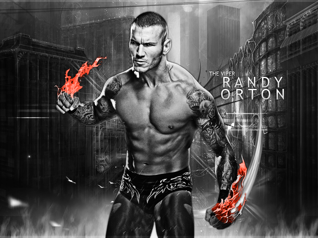 Randy Orton Wallpaper By RaTeD Gfx