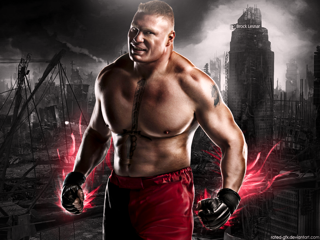 Brock Lesnar Wallpaper By RaTeD Gfx