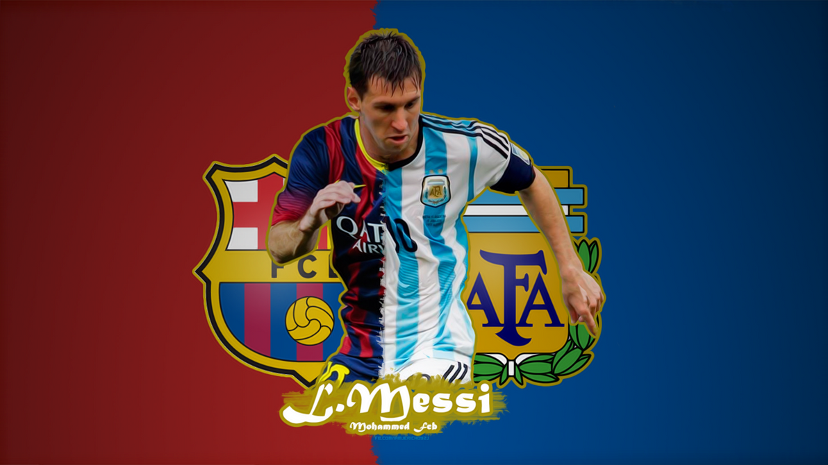 Lionel messi wallpaper by rated gfx on deviantart lionel messi wallpaper by rated gfx voltagebd Gallery