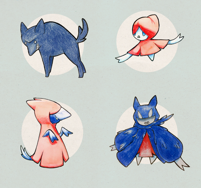 Fairy Tale Fakemon by Gluuumi