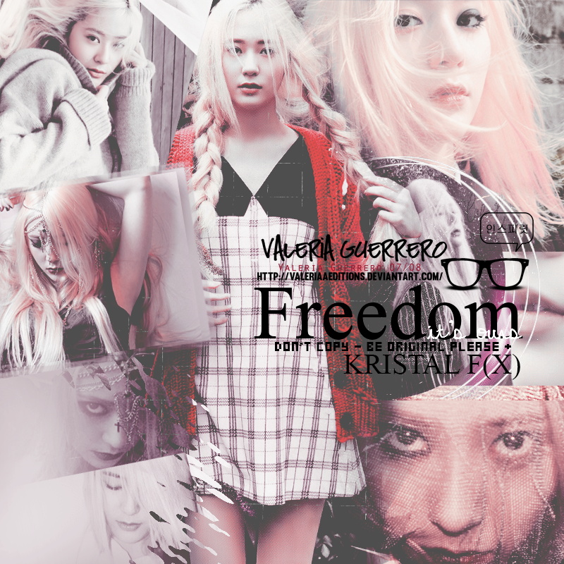 Freedom. /Krystal F(X) Member. by valeriaaeditions
