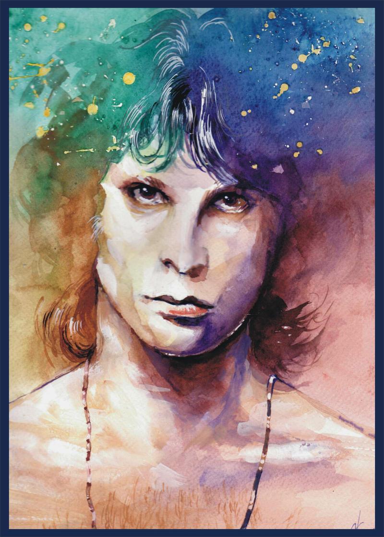 Jim Morrison by haniutek