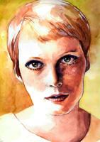 Mia Farrow by haniutek