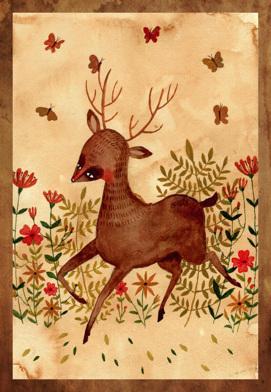 Oh deer! by haniutek