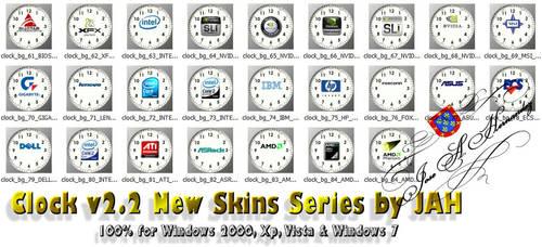 Clock skin pack 1.0 by jahm