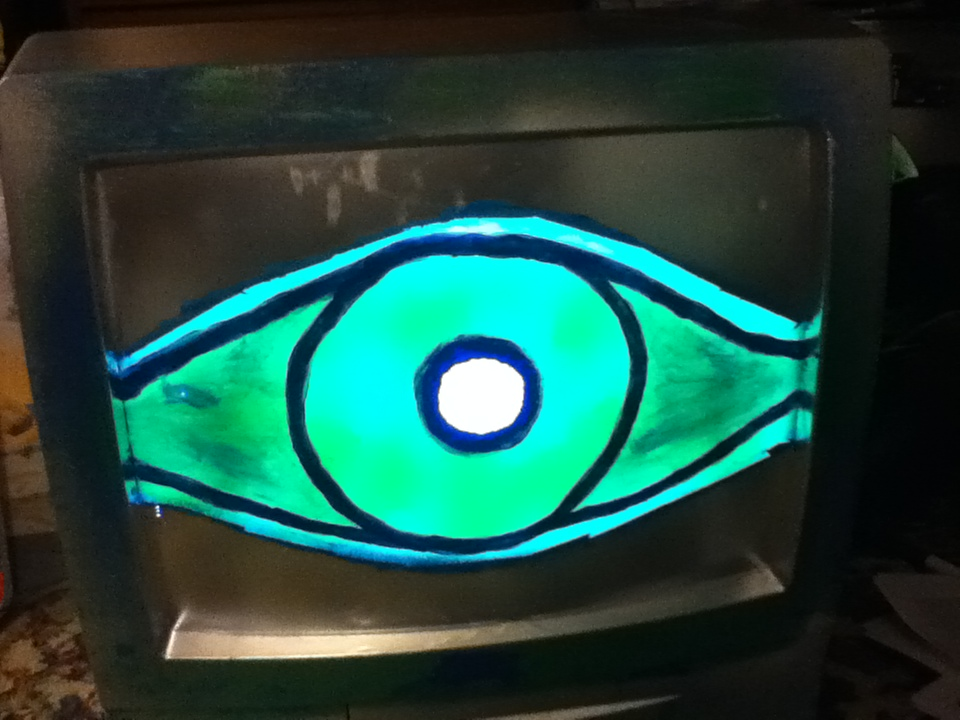 TV Eye #2 by NickVoid1991
