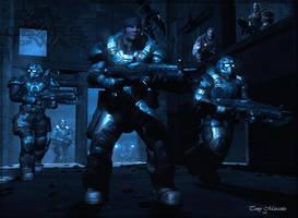 Gears of War by ubald007