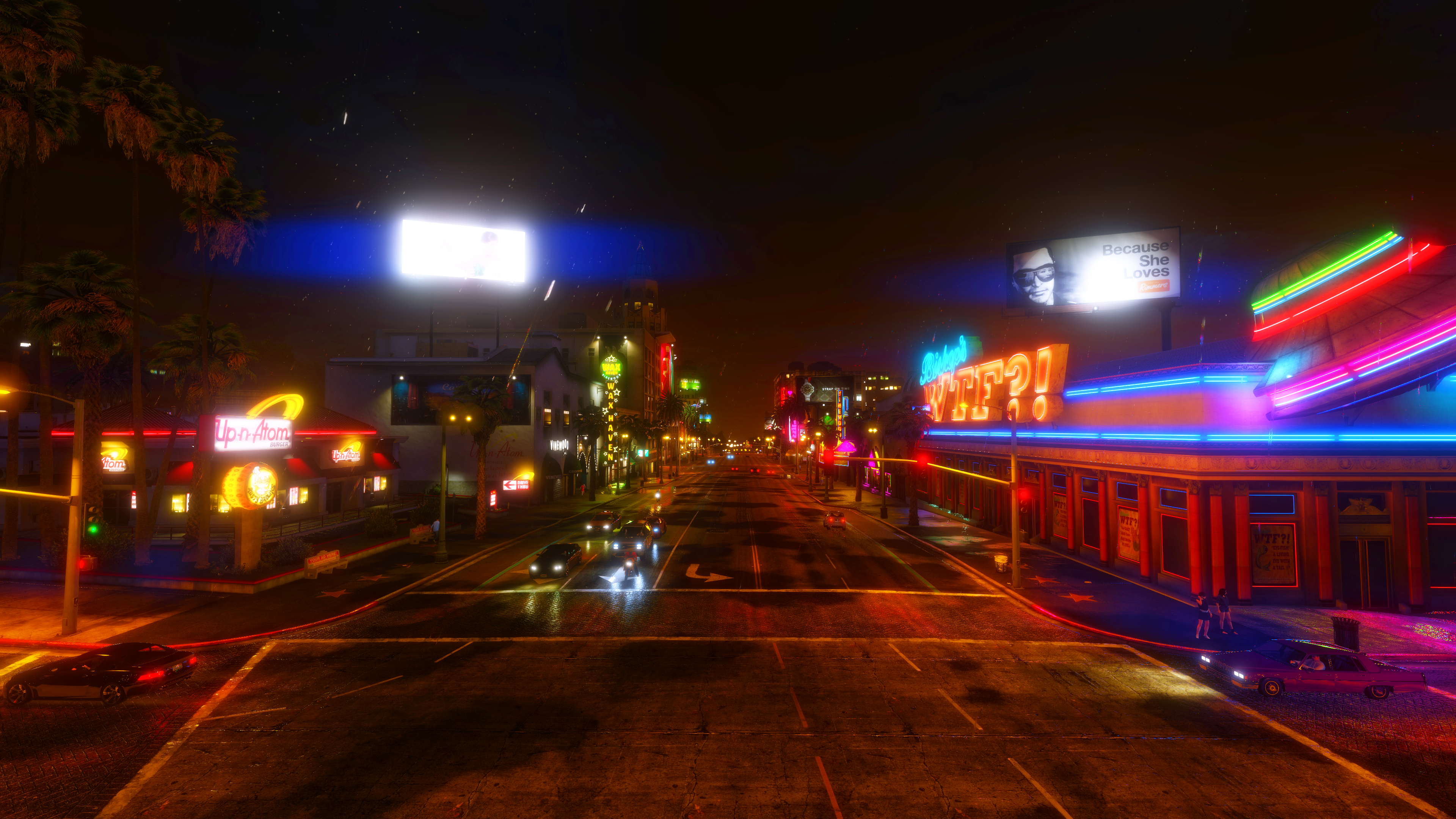 Gta V Night Rainy Wallpapers 4k By Eeveeone On Deviantart